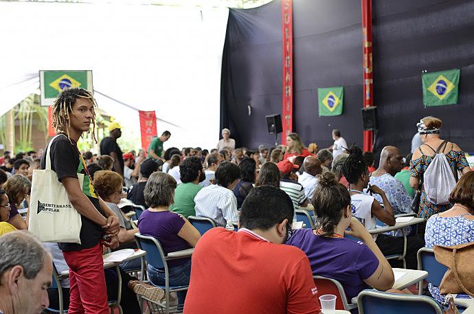 Mais de 300 militantes participaram da II Conferência Nacional da Frente Brasil Popular, que debateu a conjuntura política brasileira