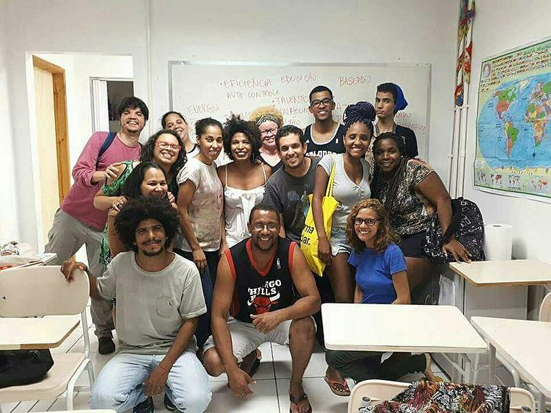 Da turma de 2017 do Pré-vestibular Popular do Cerro Corá, pelo menos quatro serão universitários em 2018