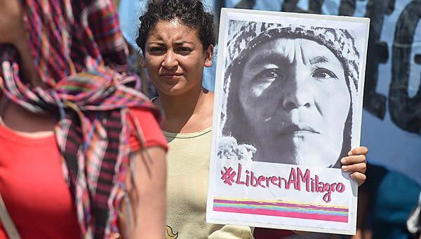 Sala é a primeira presa política de uma lista que já soma sessenta líderes populares perseguidos sob o governo de Mauricio Macri