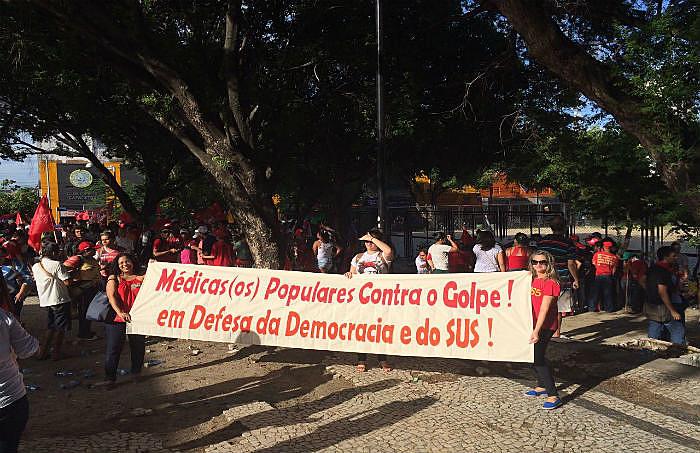 O manifesto pretende agregar o maior número de médicos e médicas que lutam em defesa da democracia