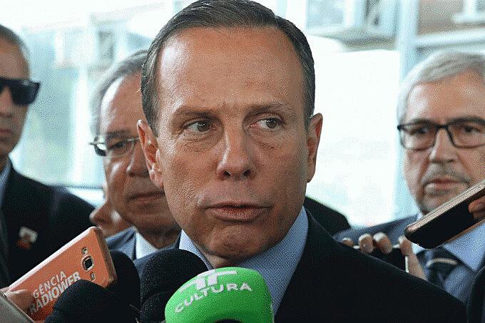 João Doria é governador de São Paulo desde 1º de janeiro de 2019