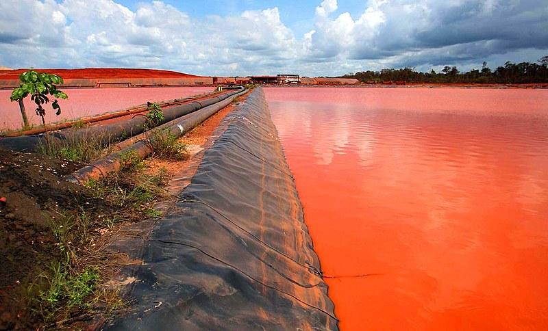 Análises feitas nas águas de rios e igarápes de comunidades foi verificado presença de substâncias nocivas ao homen e ao meio ambiente