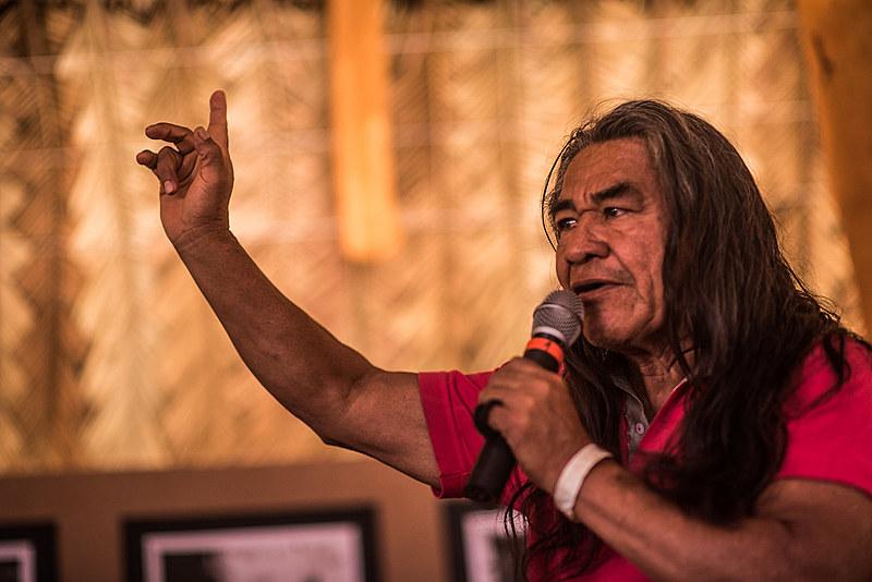 Álvaro Fernandes Sampaio, militante histórico do movimento indígena