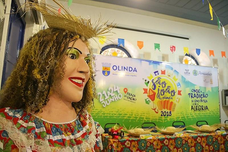 Esta é a primeira vez que Olinda conta com programação oficial nos festejos juninos