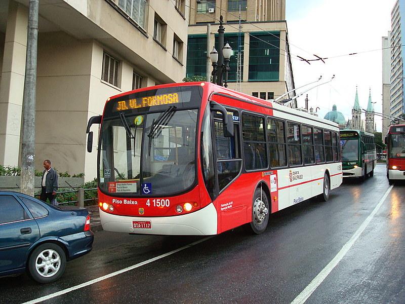 Linhas de ônibus em SP