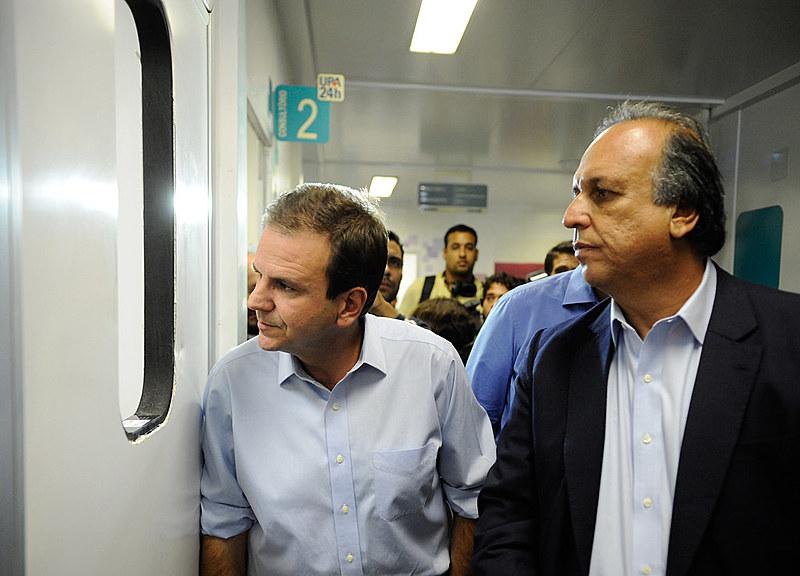 Ex-prefeito do Rio, Eduardo Paes, e o governador do estado, Luiz Fernando Pezão são suspeitos de receber propina da Odebrecht