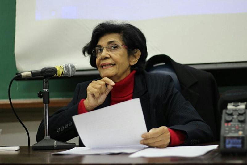 Filósofa é conhecida por seus estudos voltados a formação da sociedade brasileira e foi uma das fundadoras do PT.