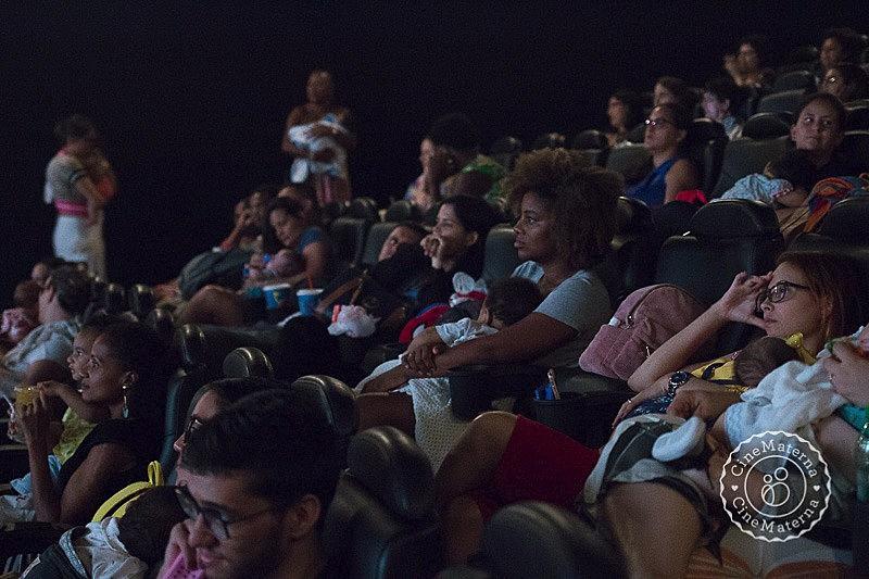 O CineMaterna existe em salas de cinema de 47 cidades brasileiras