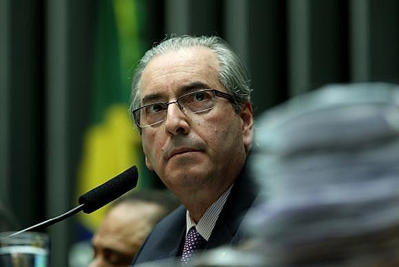 Eduardo Cunha, presidente de la Cámara de Diputados