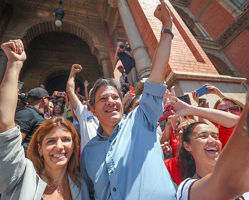 Haddad promete reforma tributária para que os pobres paguem menos impostos