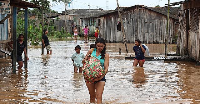 Comunidade Independente 1 sofre com alagamentos por conta da barragem de Belo Monte