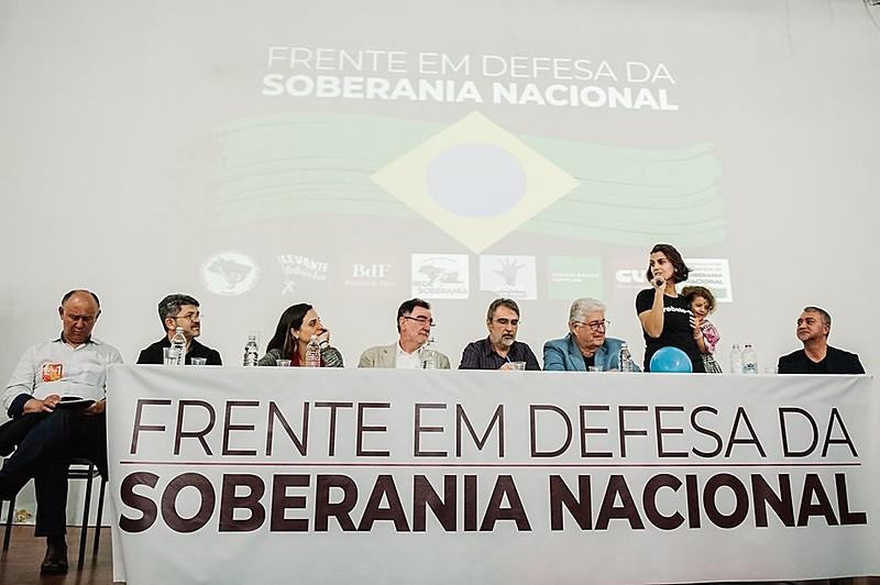 Frente que reúne partidos de esquerda, entidades e movimentos foi lançada no RS no dia 7 de outubro