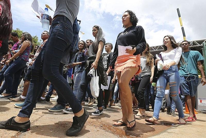 Segundo o MEC, 953 mil candidatos que fizeram o Enem 2018 se inscreveram para concorrer a uma vaga no Prouni