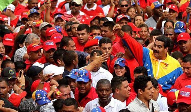 """Maduro convoca """"marcha Anti-imperialista"""" para protestar contra Estados Unidos e partidos de oposição"""