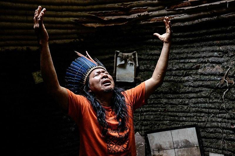 Construído há mais de 40 anos, Santuário dos Pajés é considerado lugar sagrado para as três comunidades indígenas que hoje vivem no local