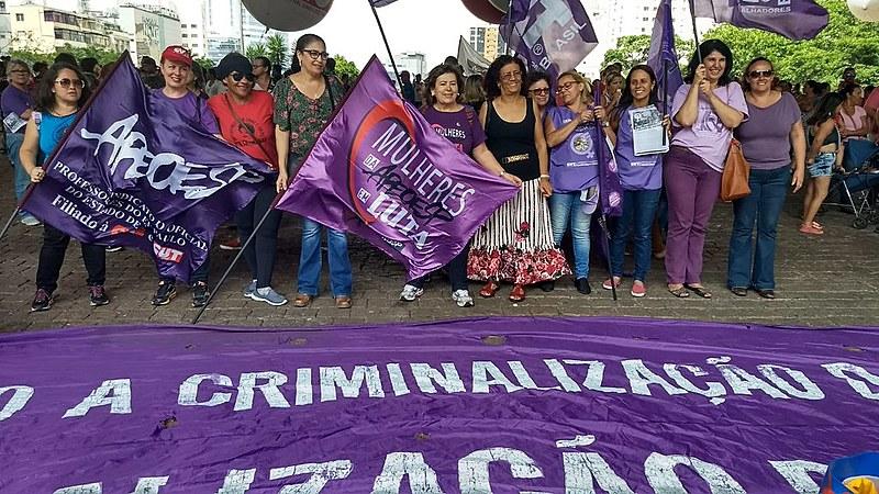 Vigília realizada em São Paulo (SP) teve o objetivo de espalhar  informações sobre a tramitação da proposta, explicaram militantes