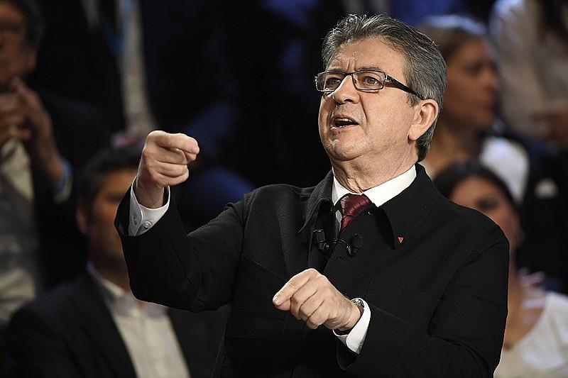 Mélenchon, candidato de esquerda, cresceu 9% em um mês