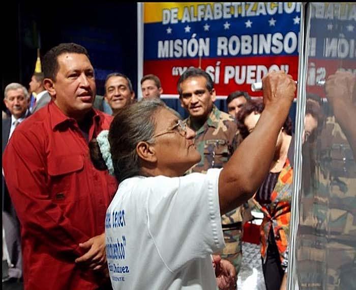 Programa de alfabetização venezuelano é uma das políticas sociais mais reconhecidas por organismos internacionais