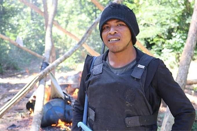 """Paulo Paulino integrava um grupo de agentes florestais indígenas conhecido como """"Guardiões da Floresta"""""""