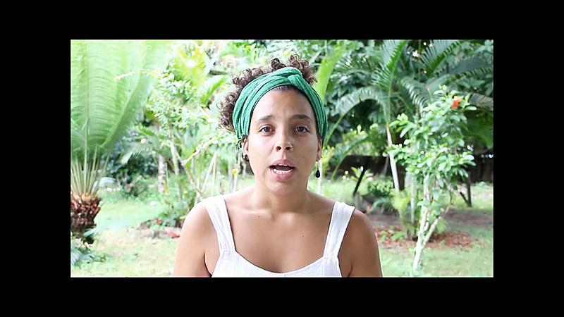 Maria, além de negra, vem de uma família de militantes