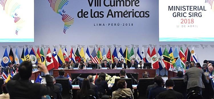 Chefes de estado do continente americano se reuniram por dois dias em Lima, no Peru