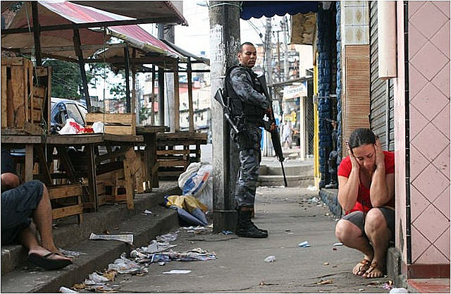 A 36% rise in shootings marks four months of federal military intervention in Rio state