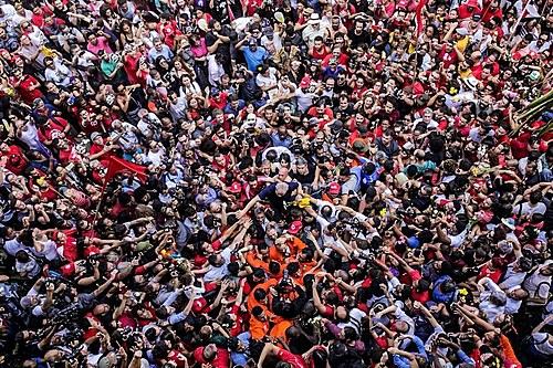 Leia a íntegra do discurso histórico de Lula em São   Política