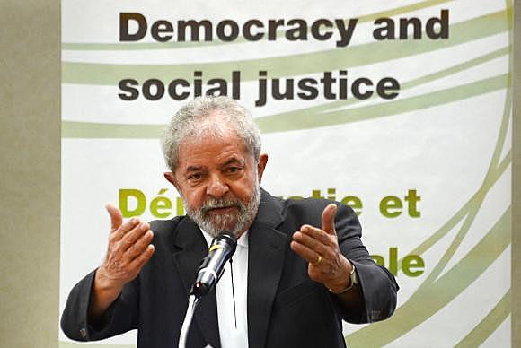 Expresidente Luiz Inácio Lula da Silva