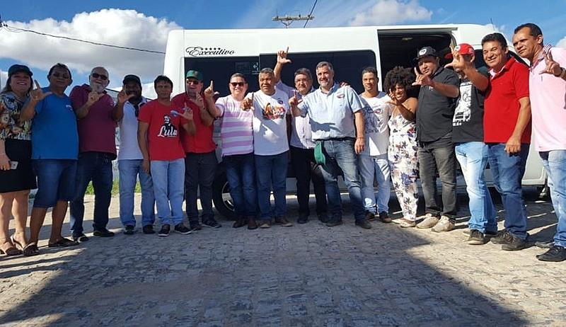 Proibida de atravessar as instalações da Chesf, Caravana terá que retornar e seguir por outro percurso  para chegar a Alagoas