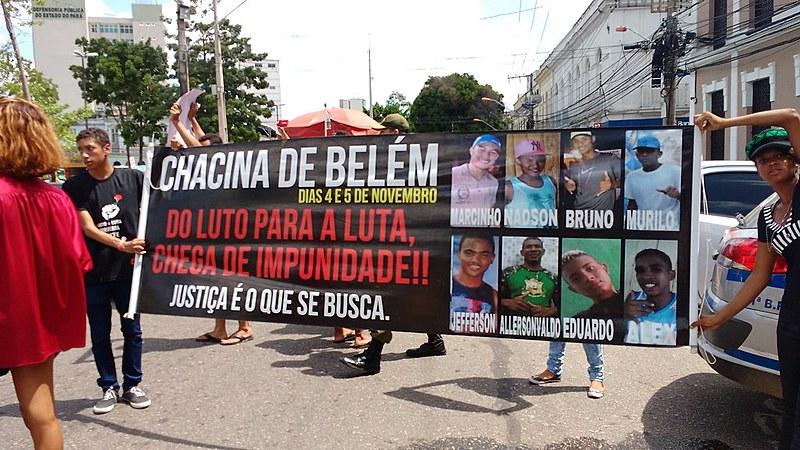 Marcha aconteceu em Belém e seguiu em direção à Assembleia Legislativa do Pará