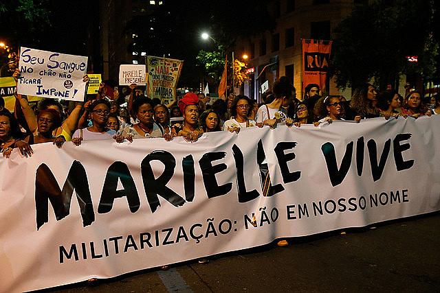 """""""La ejecución de Marielle no será instrumentalizada para el recrudecimiento de las bárbaras políticas que la ejecutaron"""""""
