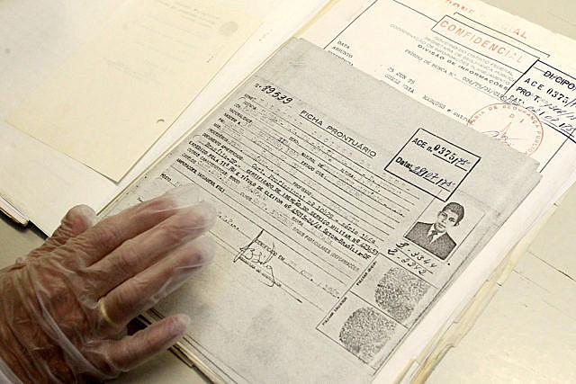 A consulta aos arquivos é feita na sede do Arquivo Público do DF