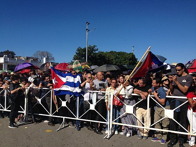 Fila para se despedir de Fidel Castro em Havana