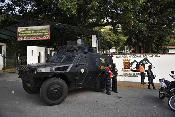 Força Armada Nacional Bolivariana impediu ação de militares amotinados