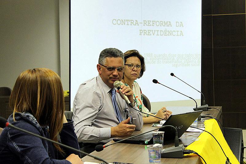 Ludimar Rafanhim, especialista em sistema previdenciário