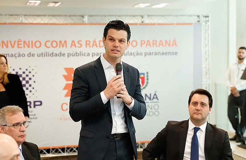 Presidente da Copel, Daniel Pimentel Slaviero