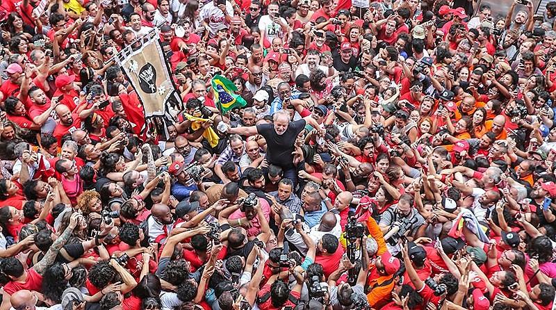 Ex-presidente Luiz Inácio Lula da Silva, em São Bernardo do Campo, no último dia 09.
