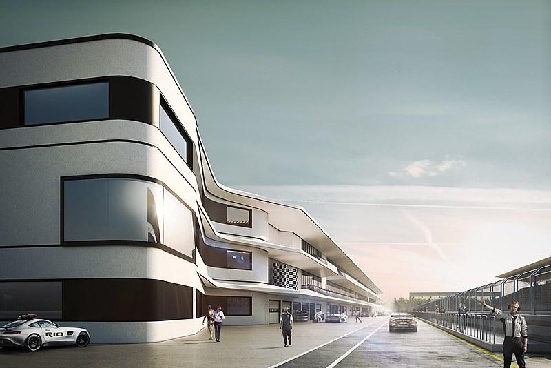 O autódromo terá capacidade de 80 mil lugares fixos, podendo ultrapassar 135 mil com estruturas provisórias, contará com uma pista de 4,5 km