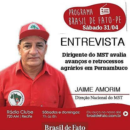 Edição destaca também Caravana de Lula, Final do Campeonato Pernambucano e Congresso do Povo
