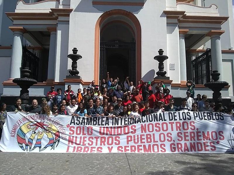 Integrantes da Brigada Internacionalista Che Guevara estão na Venezuela para participar de uma série de atividades de solidariedade