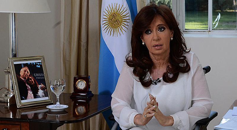"""Ex-presidenta e atual senadora, Cristina Kirchner é alvo de investigações no caso que foi chamado pela imprensa de """"Cadernos de Corrupção"""""""