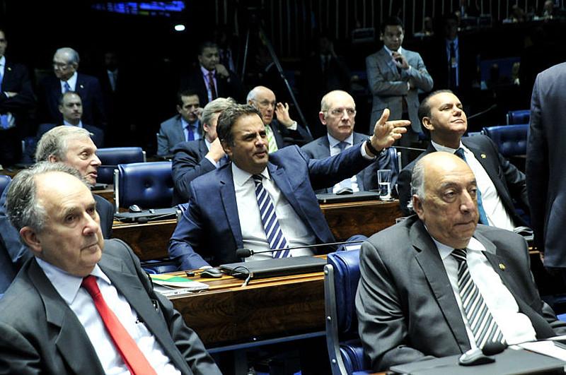 Maioria dos integrantes do Senado Federal responde a processos na Justiça.