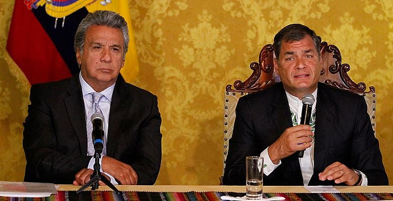 """Enquanto a ala da Aliança País apoiadora de Correa fizeram campanha pelo """"não"""", setores anticorreistas do país votaram a favor do """"sim"""""""