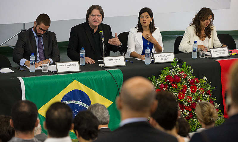 Estado democrático e Estado de exceção foram tema de seminário promovido pela Fundação Perseu Abramos nesta segunda (29), em Brasília
