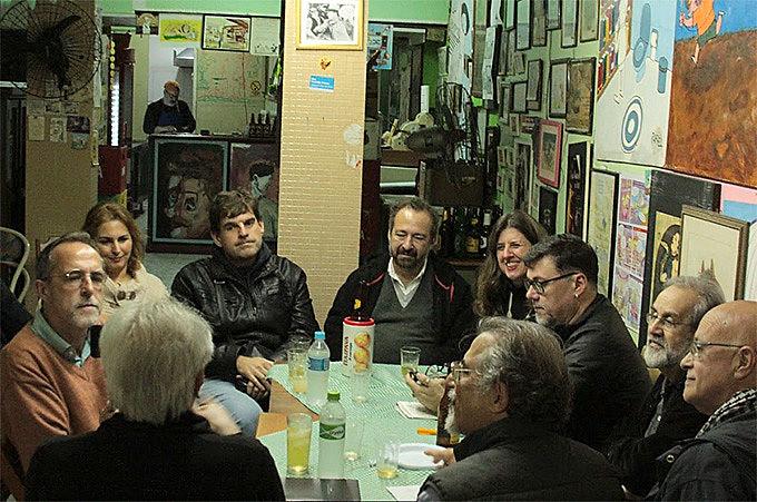 Bate papo com os artistas foi promovido pelo Brasil de Fato RS e pela Rede Soberania