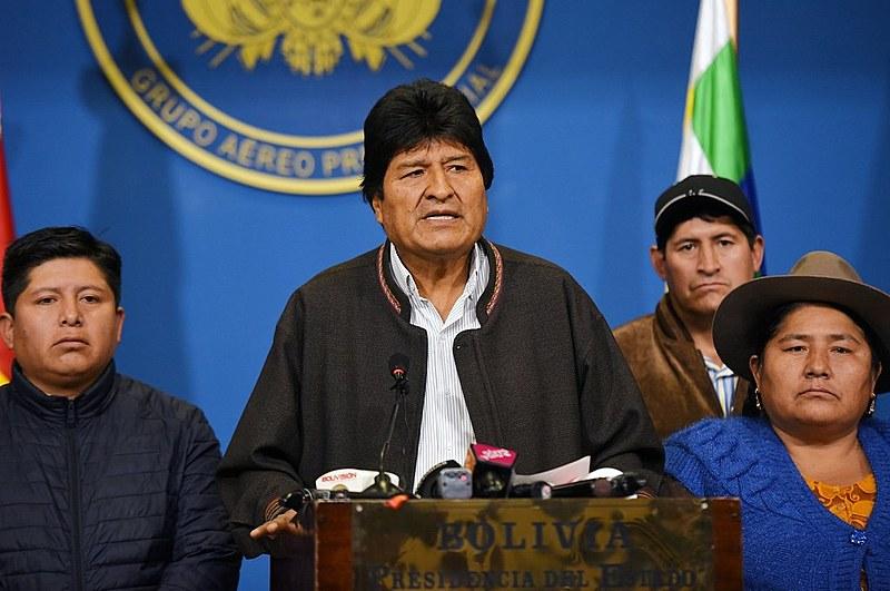 Morales renunciou à Presidência há um mês