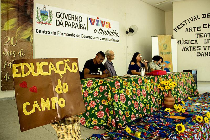 Comitê Estadual de Educação do Campo da Paraíba realiza Seminário Estadual, nos dias 30 e 31 de outubro, em Campina Grande.