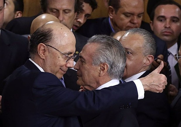 Henrique Meirelles é o ministro da Fazenda do governo interino de Michel Temer