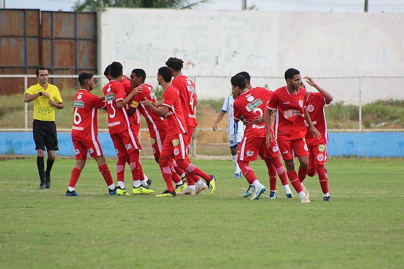 Sub-19 do América vem arrecadando bons resultados; no dia 11, a equipe ganhou contra o Centenário de Parelhas (RN) por 4 a 1