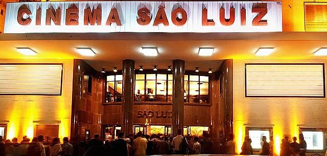 Fachada do São Luiz é mesma de 64 anos atrás